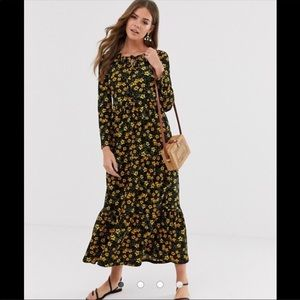 NWT Free People Tiers of Joy Midi Dress Size M